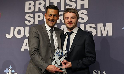 Daniel Taylor, Sports Journalists Assocation Awards - website.jpg
